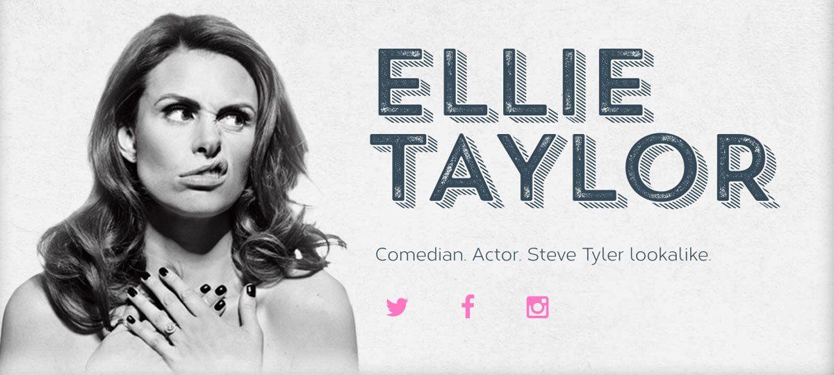 Ellie Taylor Comedian 2017