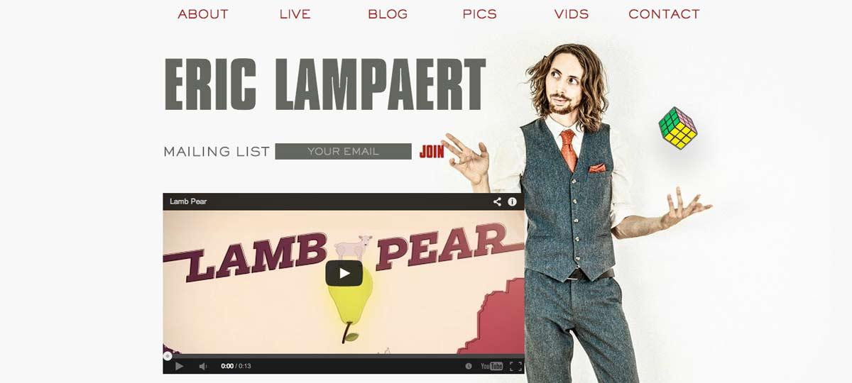Eric Lampaert - Comedian & Actor
