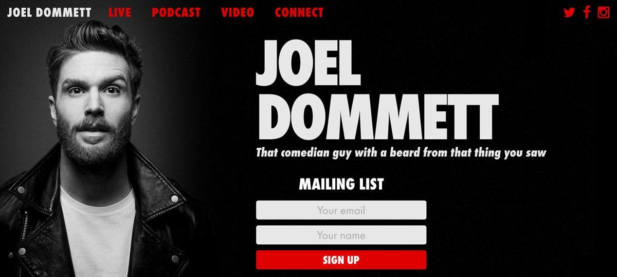 Joel Dommett 2017