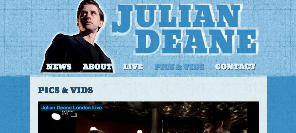 Julian Deane Stand up comedian