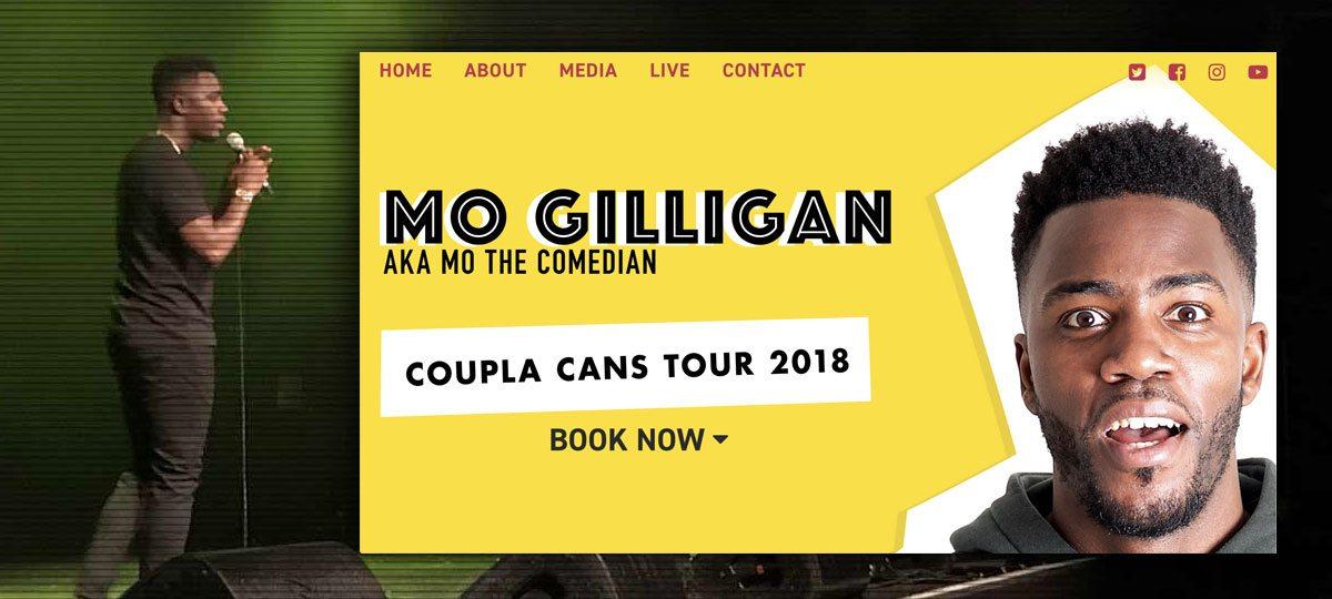 Mo Gilligan website development