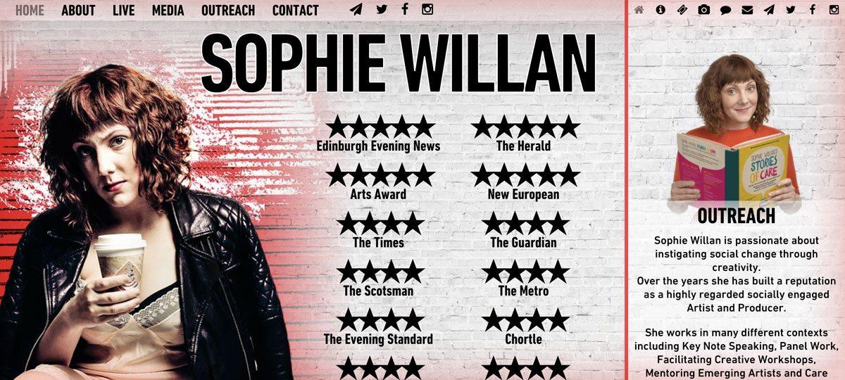 Sophie Willan website
