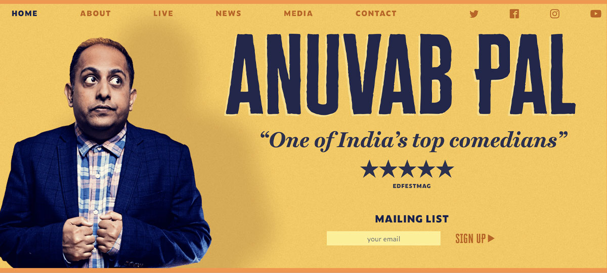 Anuvab Pal - Stand up comedian