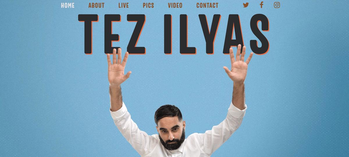Tez Ilyas website